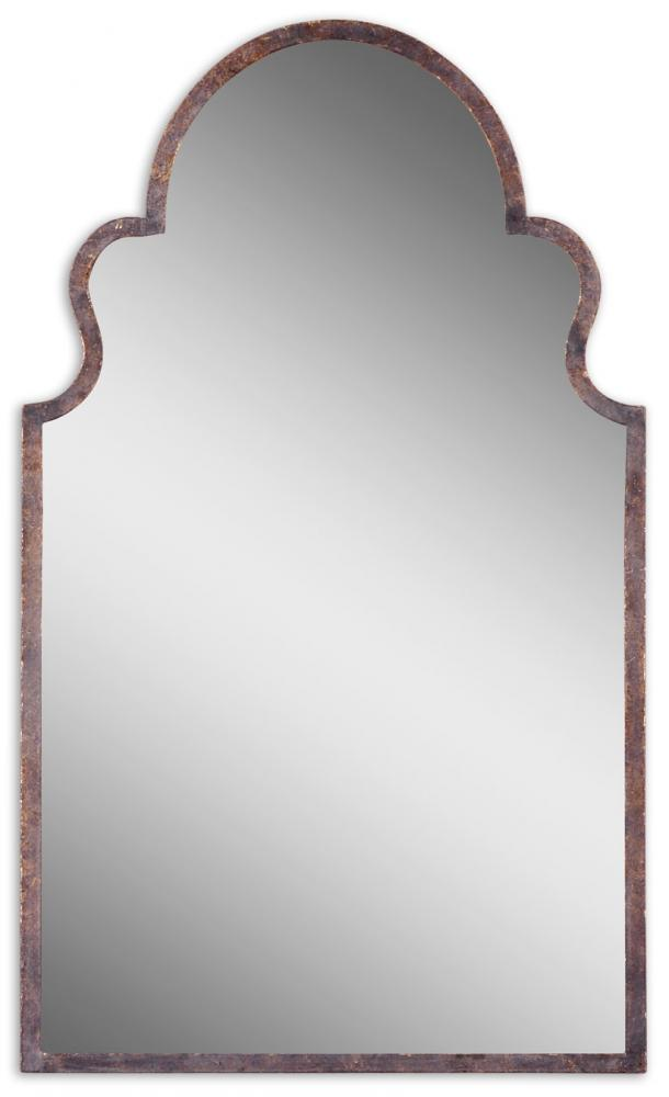 LightingOne of Cincinnati in Loveland, Ohio, United States, Uttermost FUW2, Brayden Arch Metal Mirror, Brayden